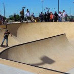 Skate park opens at Gabe Nesbitt